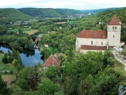 France - Lot Valley - Saint-Cirq Lapopie Photo: Senem Peace