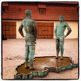 Prague - David Cerny - Photo: Senem Peace